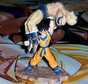 Nappa and Goku Megahouse capsule series 1
