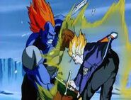 Super 13 vs Trunks Super Saiyan