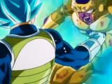 Vegeta Super Saiyan Azul vs. Freezer Dorado