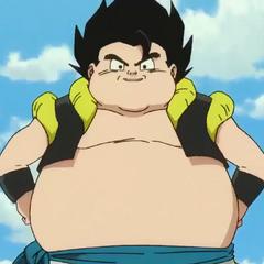 Veku grasso in Dragon Ball Super: Broly.