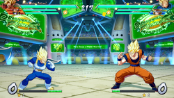 Arena espacial FighterZ