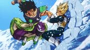 Broly contro Vegeta - Dragon Ball Super Broly