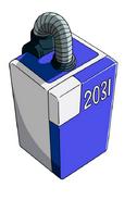 D0.0.1.2 capsula N 2031 refrigerador