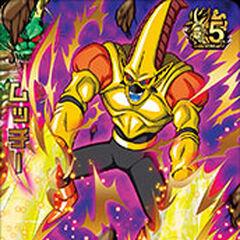 La carta di Mucchi in Dragon Ball Heroes.