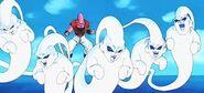 Super Buu y sus fantasmas