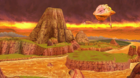 Super Dragon Ball Heroes World Mission - Stage Preview - Mount Paozu (Mechikabura's Ship Ver.)