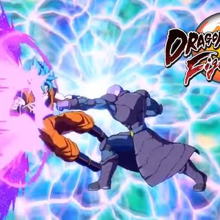 Hit contro Son Goku nel gioco.