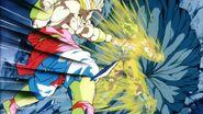 Goku Fighting Back