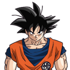 Son Goku in Dragon Ball Super.