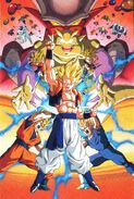 Poster JAP DBZ Pelicula 12 no poster