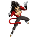 Vegeta - Xeno (Super Saiyan 4 - Artwork)
