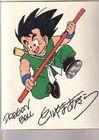 Akira Toriyama Autograph 1 by goku6384