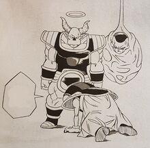 Dragon ball super manga cap 5 - contenuti extra
