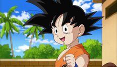 Goku Joven Flashback