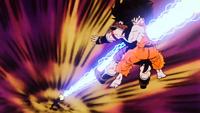 Il Makankosappo di Piccolo trapassa Son Goku e Radish