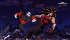 Jiren vs. Cumber SDBH Anime