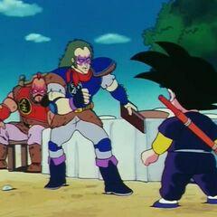 Silver affronta Son Goku.