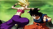 Goku vs. Caulifla SS2