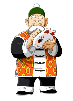 Grandpa gohan unmasked by orco05-d5ed4n8