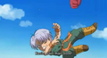 Kid trunks after geting punched