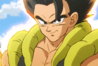 Gogeta base Dragon Ball Super Broly