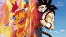 Goku red v broly jr