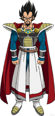 King Vegeta redesign
