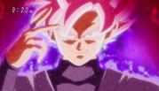 Black Goku transformation