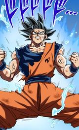 Blue Sign Goku