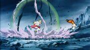 Broly contro Goku