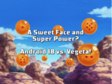 A Sweet Face and Super Power? Android 18 vs. Vegeta!