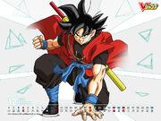 Goku Xeno V-Jump
