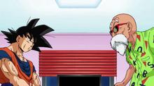 Goku et le mafuba