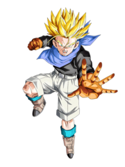 Trunks GT (Super Saiyan) (Artwork)