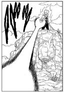 Trunks dispara un segundo ataque contra el Rey Cold (manga)