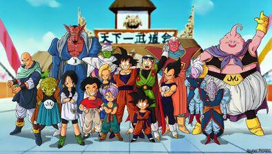 A Dragon Ball z Saga de Boo