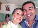 Gloria rocha junto a Mario Castañeda