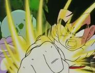 Gohan fighting garlic jr