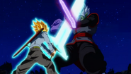 SuperTrunks Hikari Sword Genkidama 5