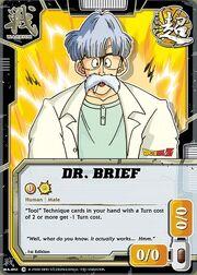 Dr brief card