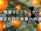 Goku vs Black! Caminho interditado para o futuro!