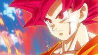 Goku SSJD herido
