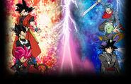Goku Vegeta Xeno Trunks Zamas Black