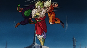 Junior e Goku vs Broly
