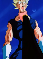 Old Buu Emerges - Vegeta endures