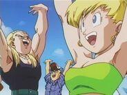 Sharpner e Eraza donano la loro energia per la Genkidama