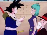 DB Goku pregunta por los labios de Bulma