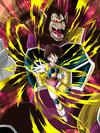 Dokkan Battle Exquisite Assault Fasha (Great Ape) card (Base Form SSR-UR)