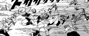 Dragon Ball Z La Resurrezione di 'F' - guerrieri z combattono