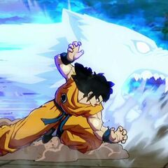 Il Rogafufuken in Dragon Ball Z Fighter Z.